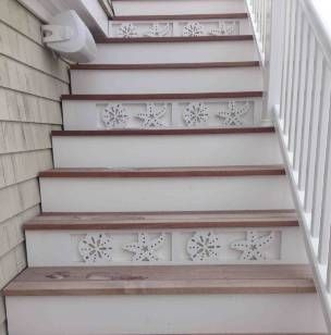 We Create Coastal Themed House Trim Including Decorative Corner Brackets,  Corbels, Balusters, Porch