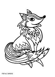 Disegni Di Volpi Da Colorare Foxes Coloring Coloringinspiration Coloringpages Disegno Volpe Disegni Volpe