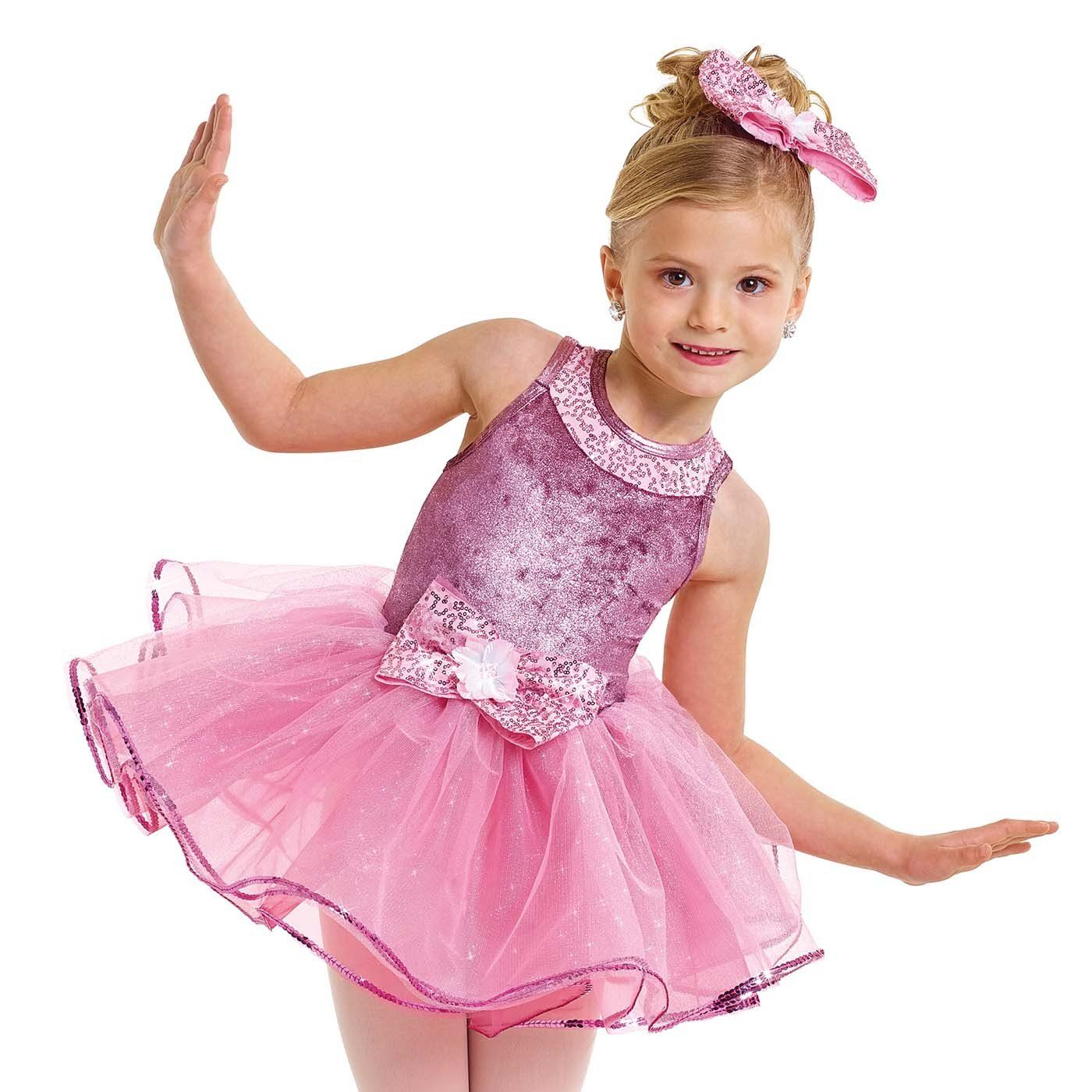 Moonlit Mauve Dance Recital Costumes Flower Girl Dresses