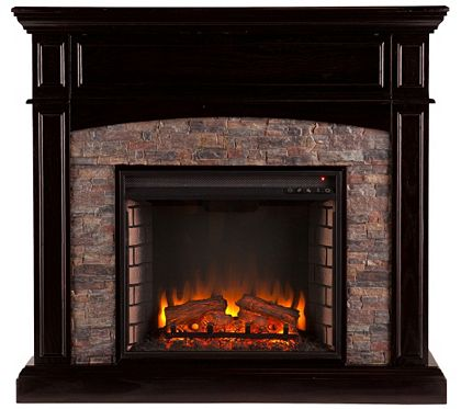 Grace Electric Convertible Media Fireplace H287417 Qvc Com