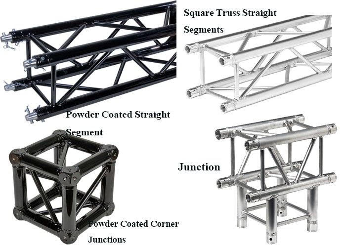 Dj Concert Music Lighting Stage Truss Aluminum