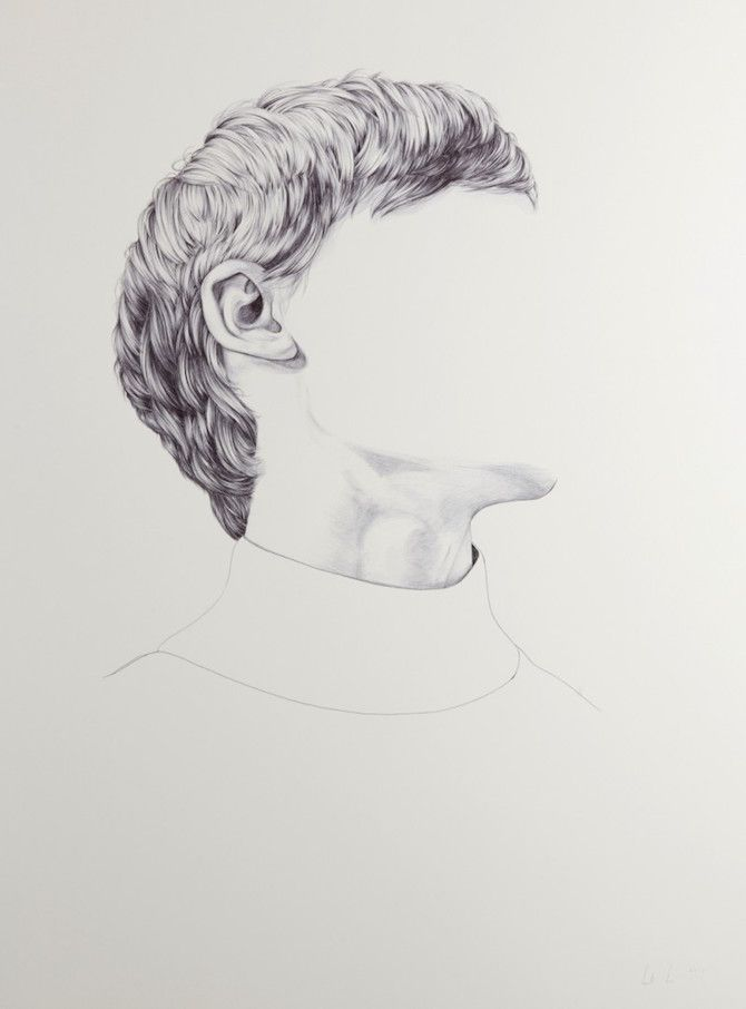 Portraits With Missing Faces By Henrietta Harris How To Draw Hair Art Portraiture