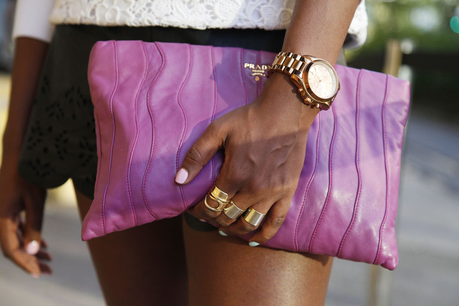 Style Outside The Show | Multiple rings and Refinery 29