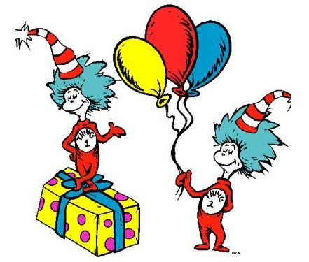 Dr. Seuss Birthday Clip Art | For more information, stop by the ...