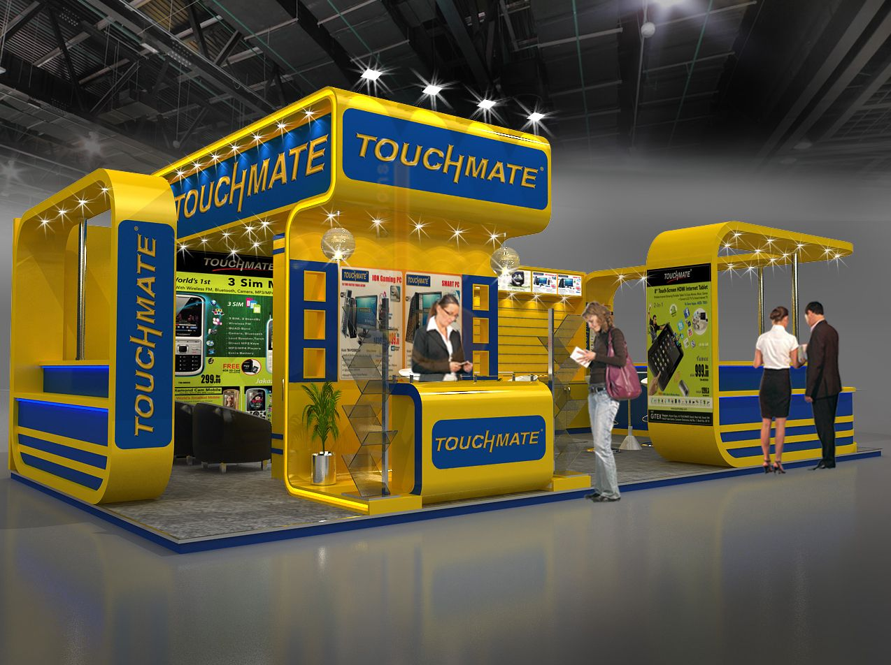 Touch Mate Exhibition Design Booth Design Exhibition Stall