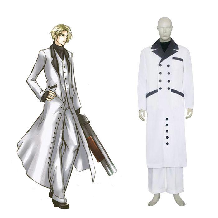 Final Fantasy VII 7 Rufus Shinra Cosplay Outfits