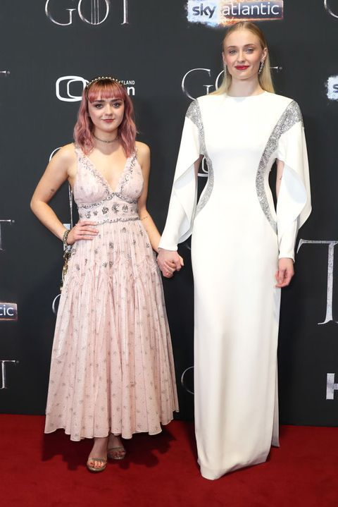 Sophie Turner & Maisie Williams Were Too Cute at the 'Game ...