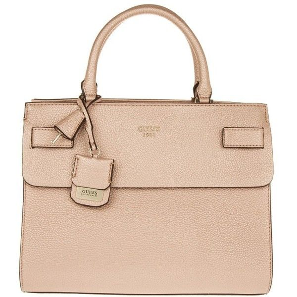 0de237f14a Guess Cate Satchel Rose Gold in rose