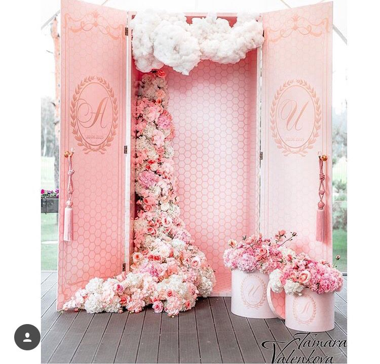 Pink Wedding Backdrop Backdrops For Parties Backdrops