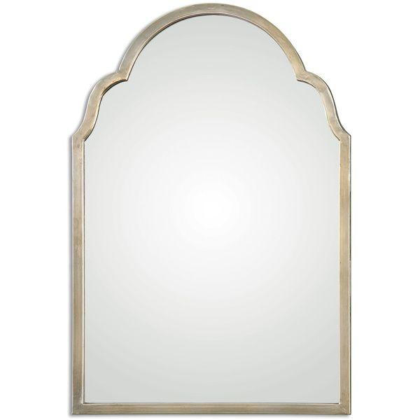 Overstock Mirrors: Uttermost Brayden Petite Silver Arch Decorative Wall