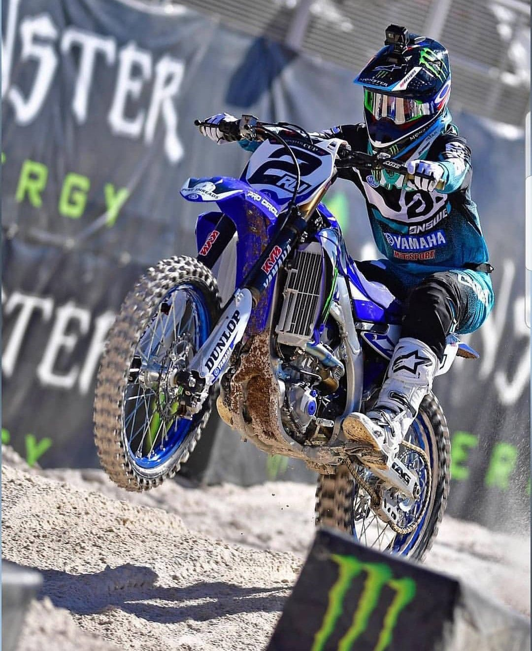 Pin By Tyson Tollstrup On World Of Racing Yamaha Dirt Bikes