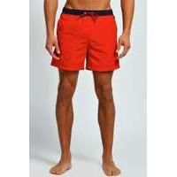 e05eb2d306 Colour Block Swim Shorts - red | boohoo | Men's Clothing | Swim ...