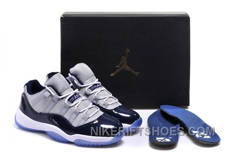 "Find Girls Air Jordan 11 Low ""Georgetown"" Shoes Sale Online For Spring  online or in Footlocker. Shop Top Brands and the latest styles Girls Air  Jordan 11 ... 56366c77f"