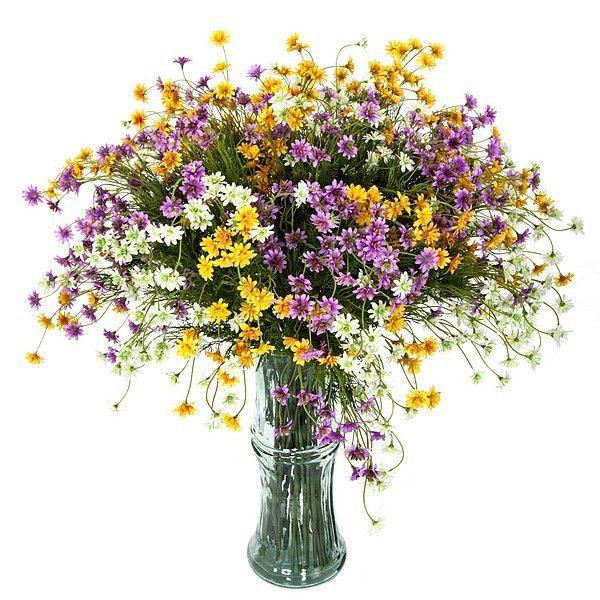 Jarron Con Margaritas Artificiales Http Www Lallimona Com Online Flores Y Plantas Ar Flores Artificiales Plantas Artificiales Arreglos Florales Artificiales