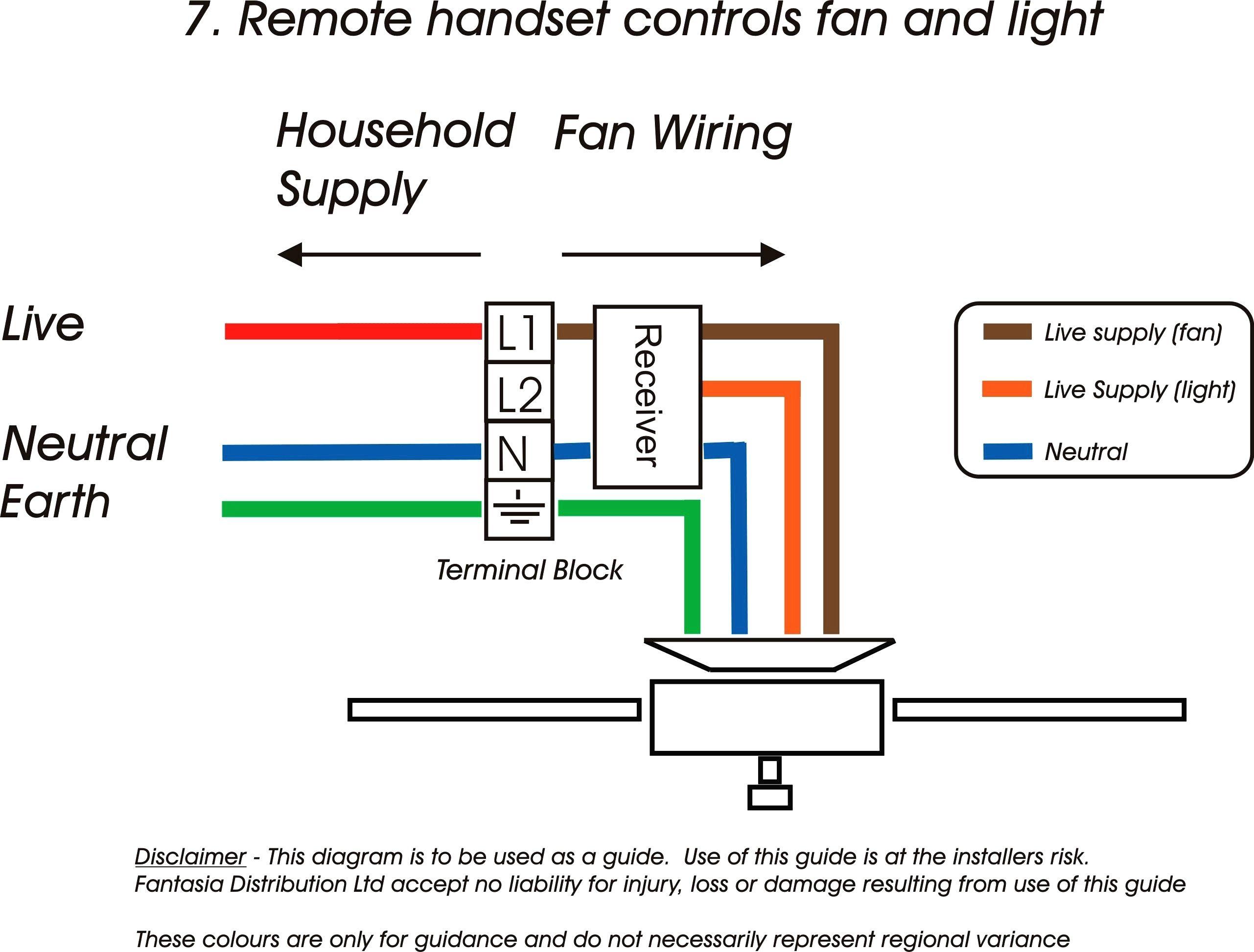 Ceiling Fan Light Switch Wiring