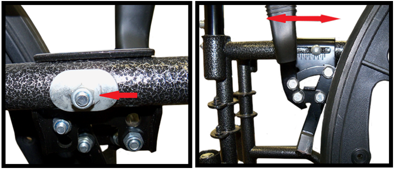 How to adjust wheelchair brakes Wheel lock, Brakes