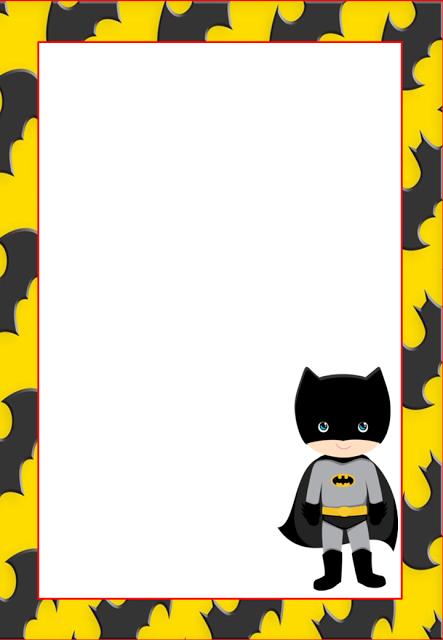 Free Printable Batman Invitations Cards Or Labels Justins 8th
