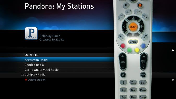 Great news for music fans! Enjoy Pandora on your TV