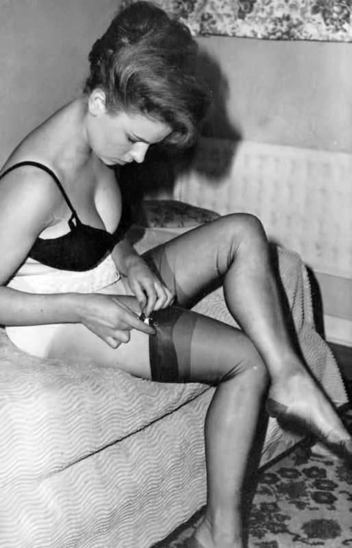 Apologise, Vintage stockings spick and span share your