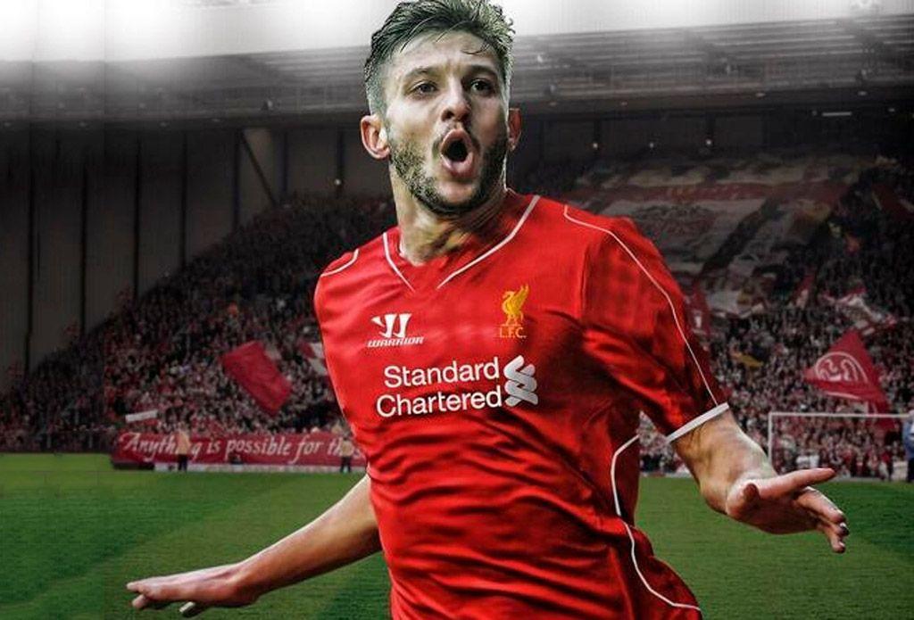 Adam Lallana 2014 Liverpool Fc Wallpaper