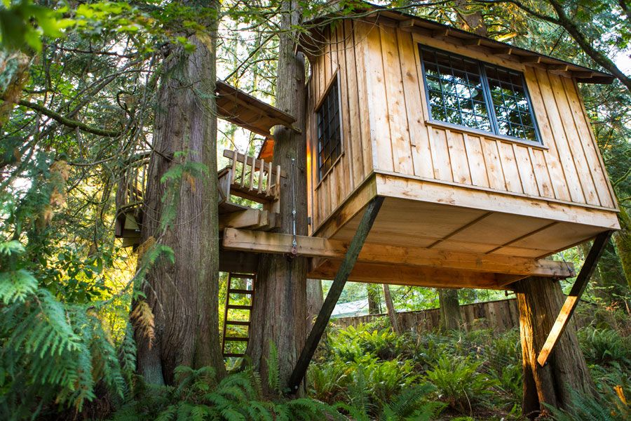 Tree House Point Part - 41: Treehouse Point | Tiny House Swoon