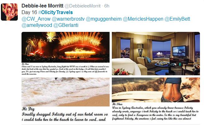 Debbie-Lee Morritt for the #OlicityTravels Project