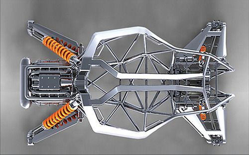 ideas-about-nothing:  KTM AX Buggy concept frame