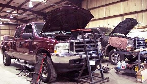do you have a medium duty ford pick up truck in need of a repair or