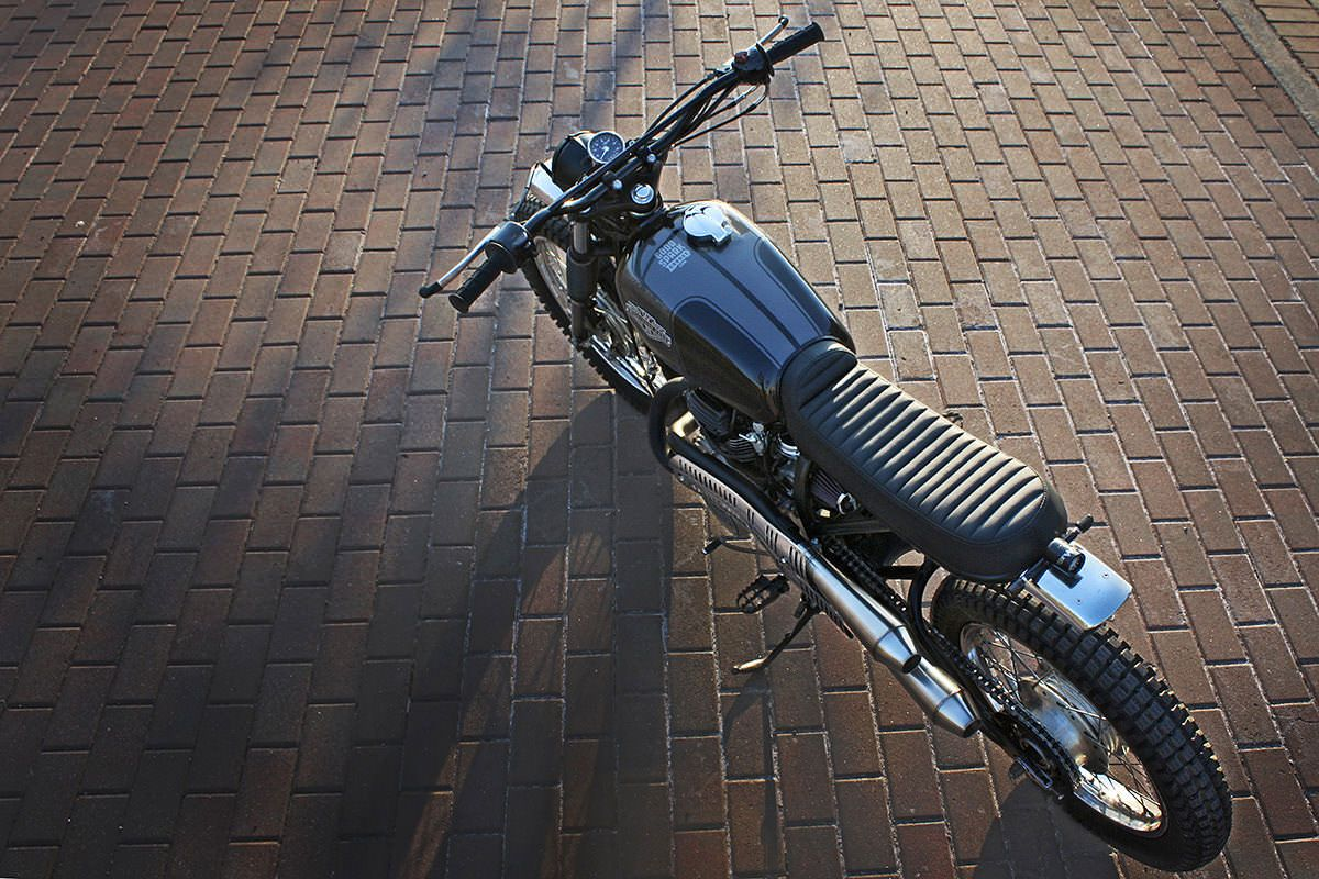 Brothers Gonna Work It Out: Wilkinson Honda CL360 | Honda ...