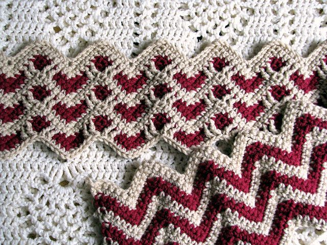 Crochet Sweetheart Ripple Afghan 013 Video Tutorial 765 ...