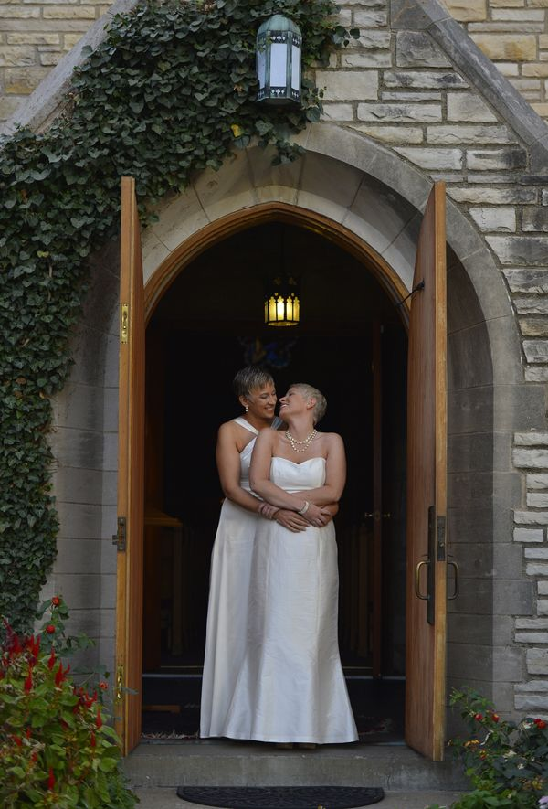 11 gorgeous photos and a video of Shannon and Susan promising commitment in Kansas City | Freedom to Marry