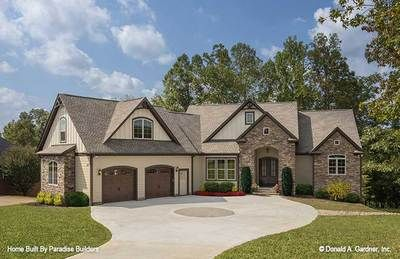 House Plans The Sandy Creek Home Plan 1329 D