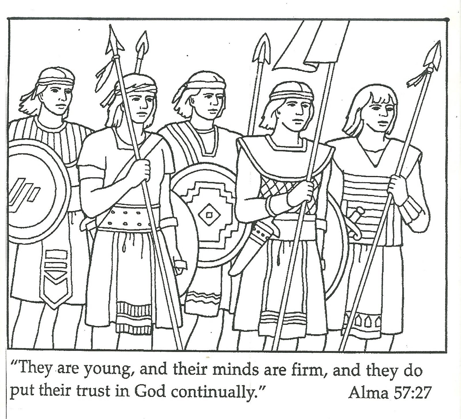Primary 3 Lesson 28 With Images Lds Coloring Pages Coloring