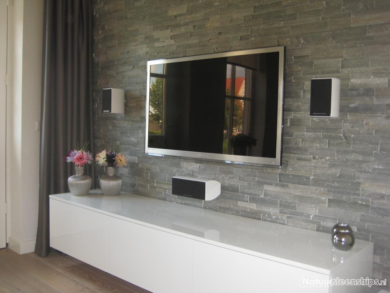 Steenstrip woonkamer | Home | Pinterest | Living rooms, Interiors ...