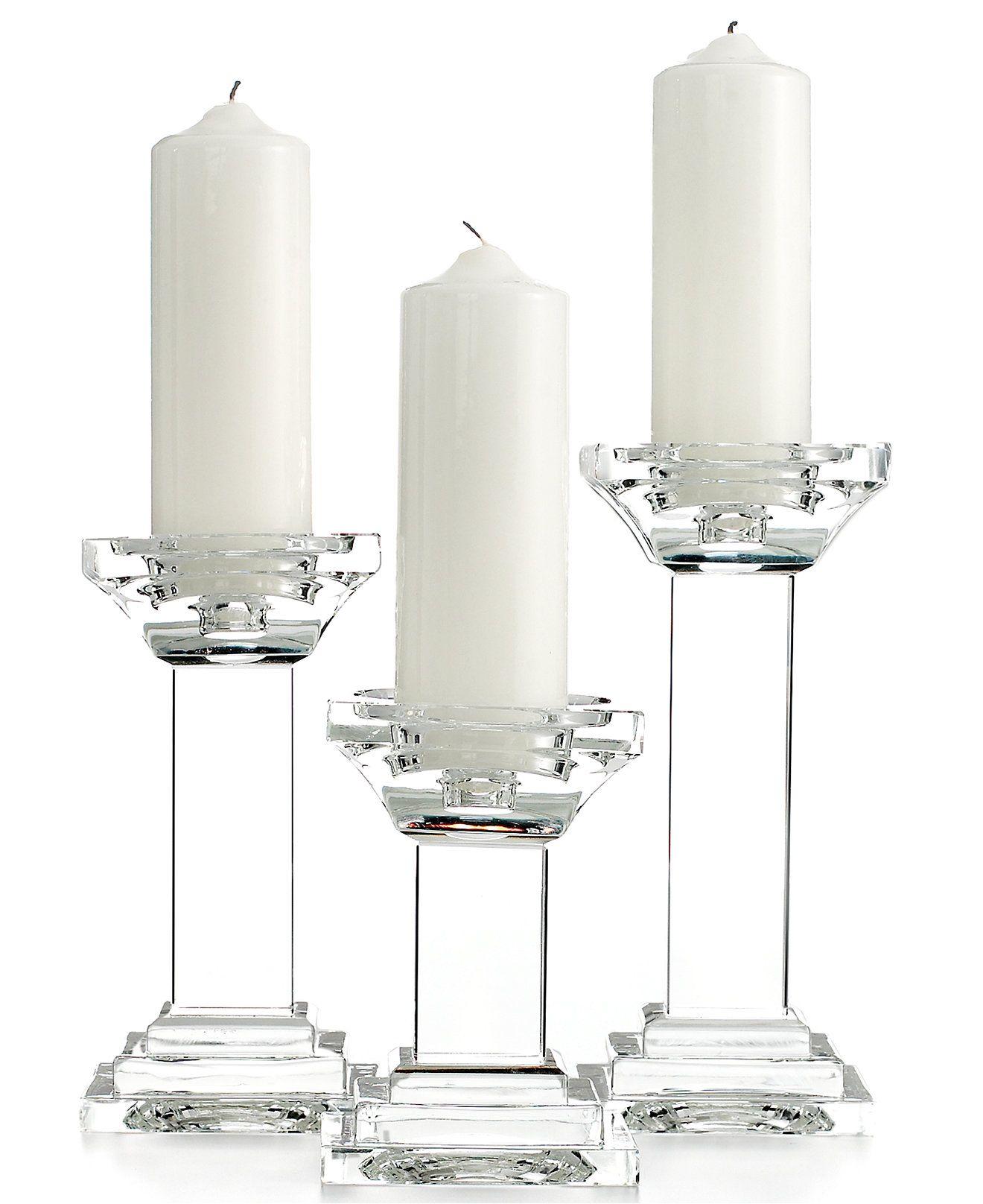 Dining Lighting By Design Candle Holders Set Of 3 Metropolitan