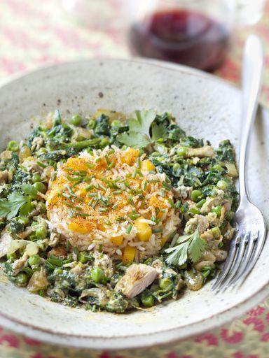 Recette De Thon Petits Pois Et épinards En Curry Fish And Sea - Cuisiner du thon