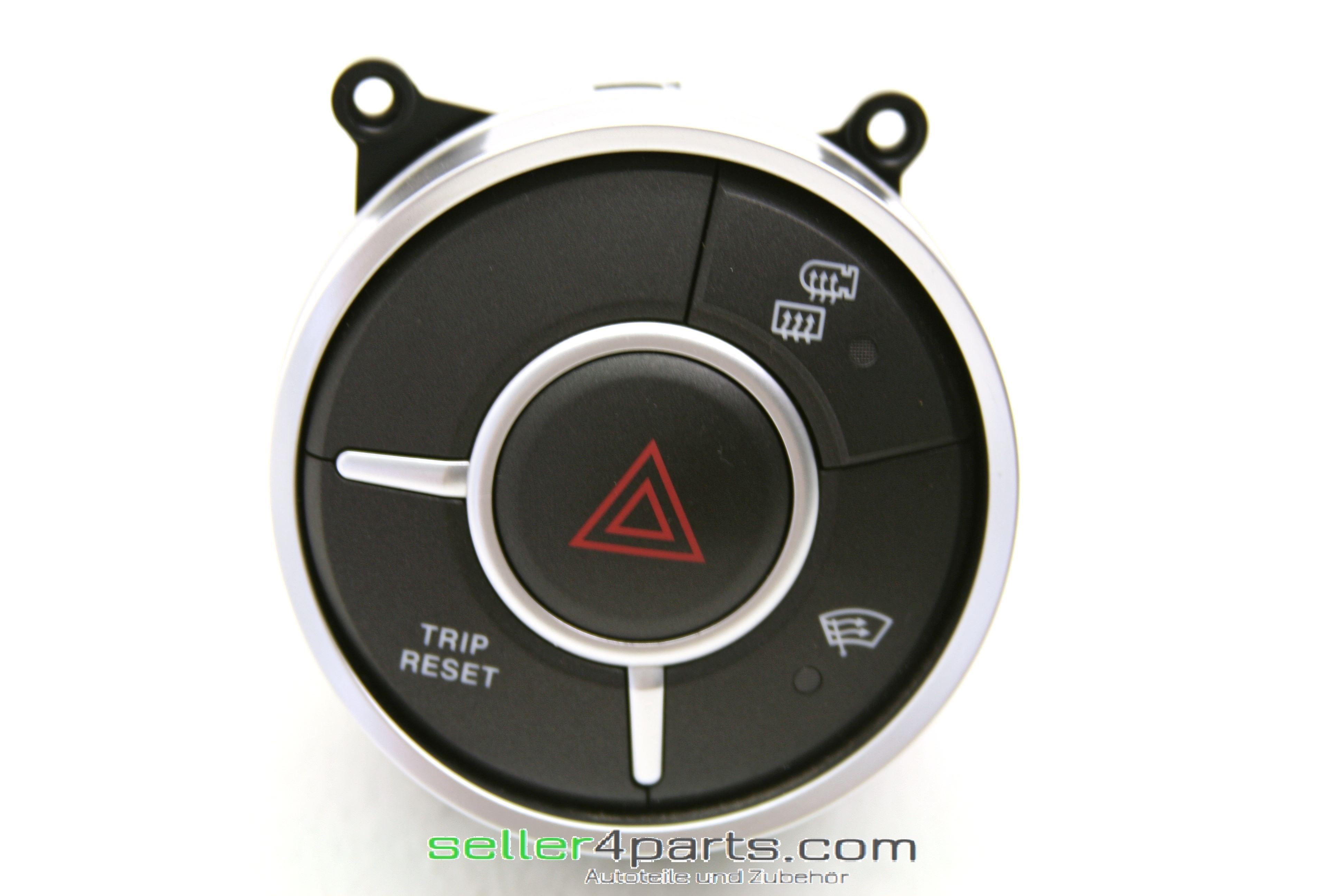 Warnblinkschalter Hazard light button Ssangyong Actyon Sports 85205 ...