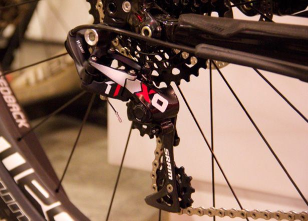 Sweet 2014 Sram X01 Rear Derailer Clutched With The Alternating