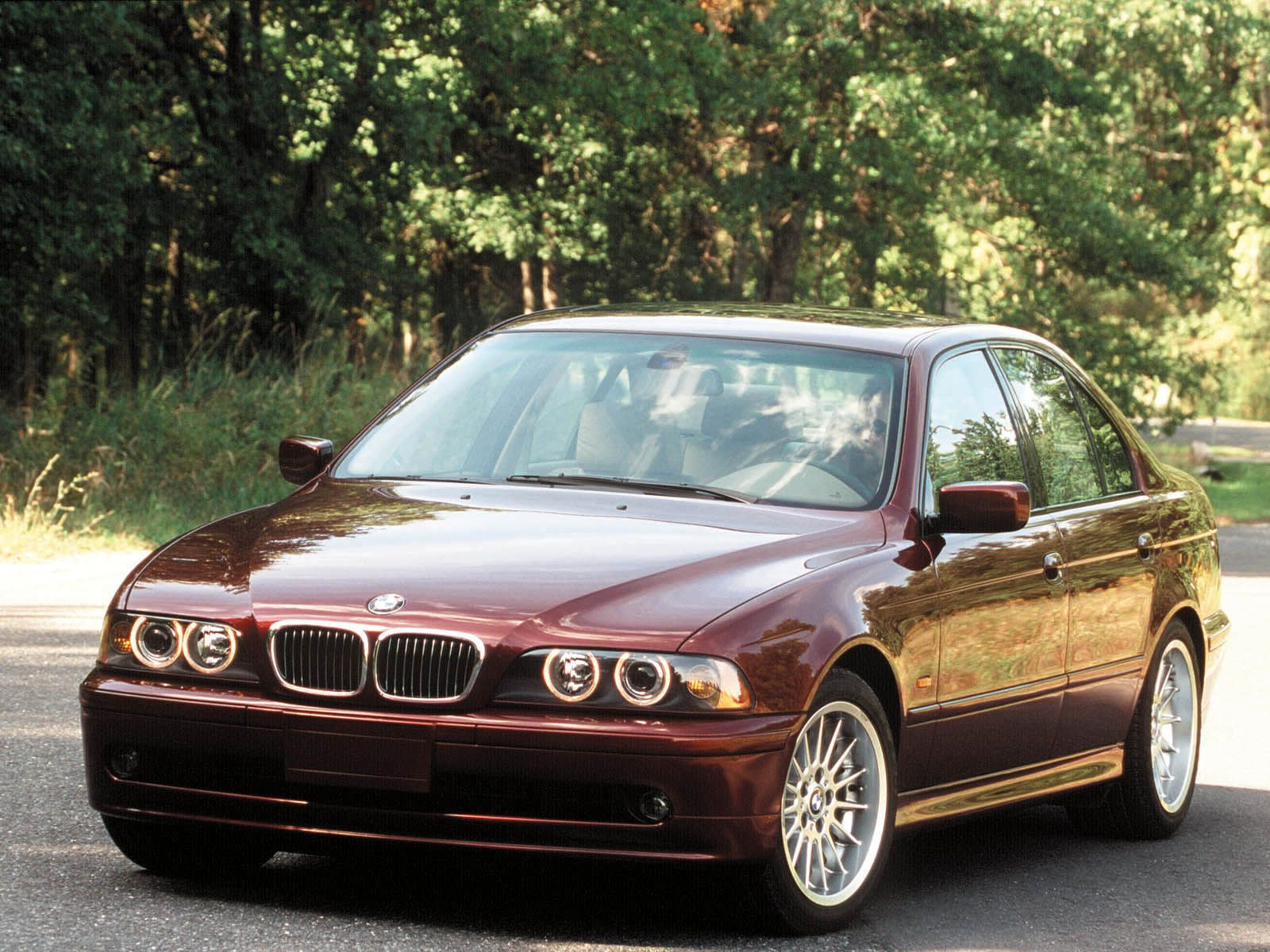 Bmw E39 M5 Dark Red