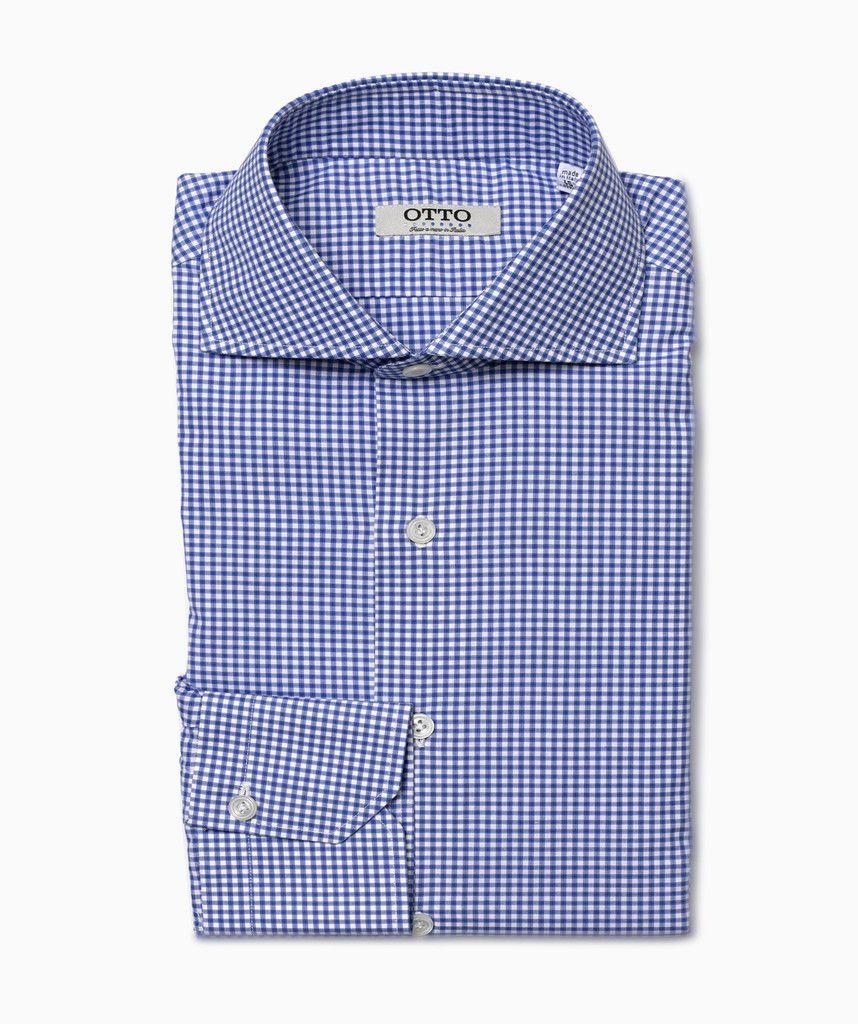 Small Check Shirt Otto Uomo The Perfect Dress Shirt Pinterest