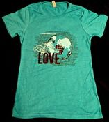 Image of Where You Live T (fitted Teal)