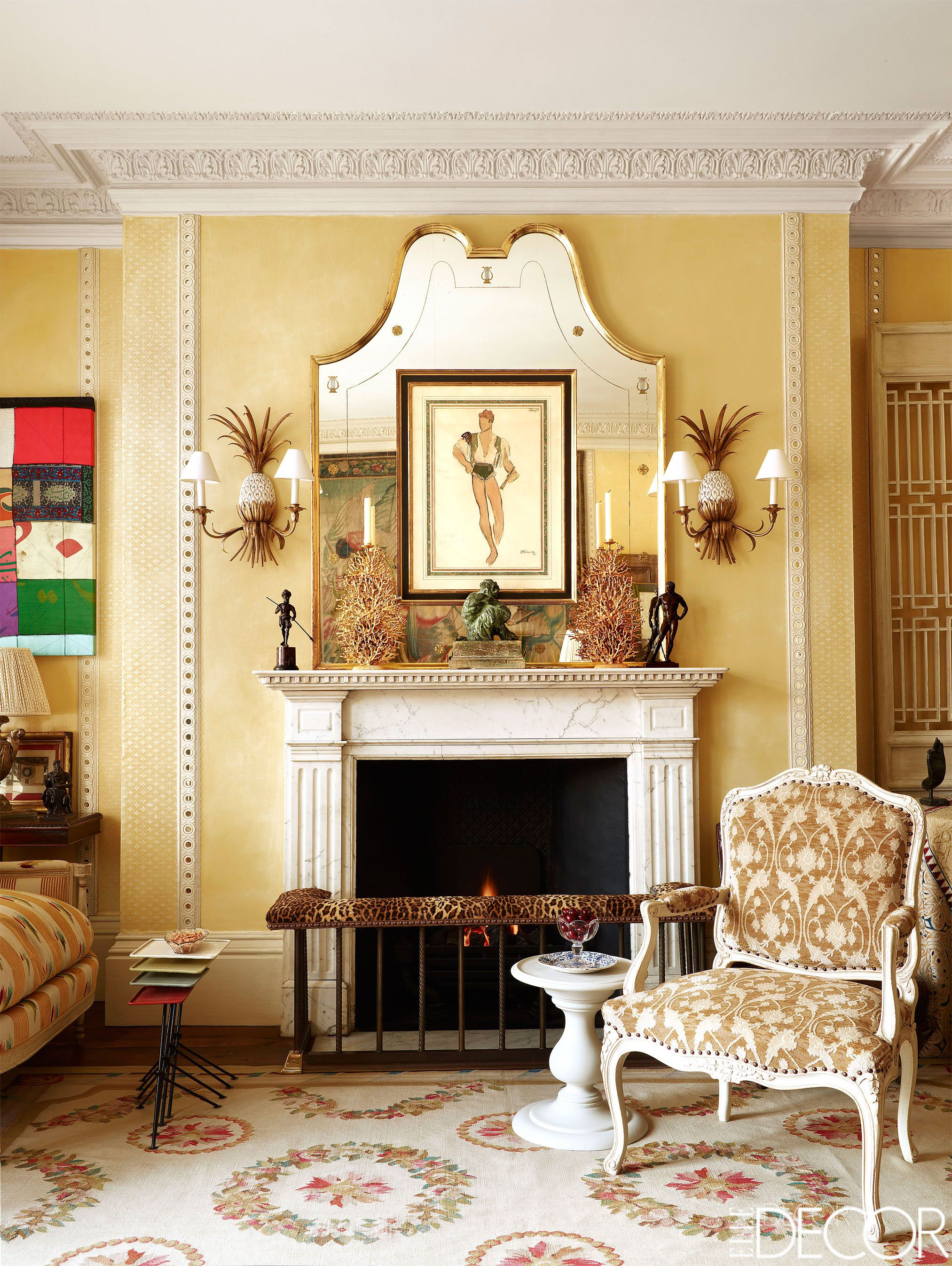 Funky How To Decorate Fireplace Wall Collection - The Wall Art ...