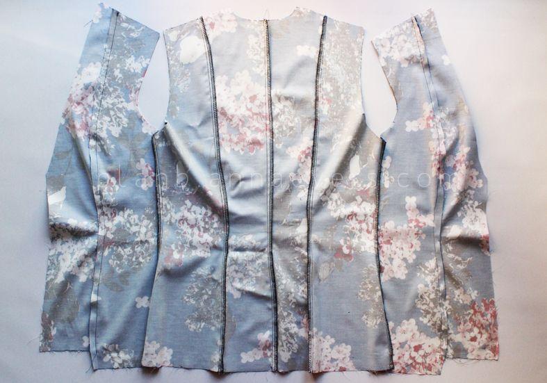 diy blazer PATERNS | DIY Spring-summer jacket (free pattern) | ALL ...
