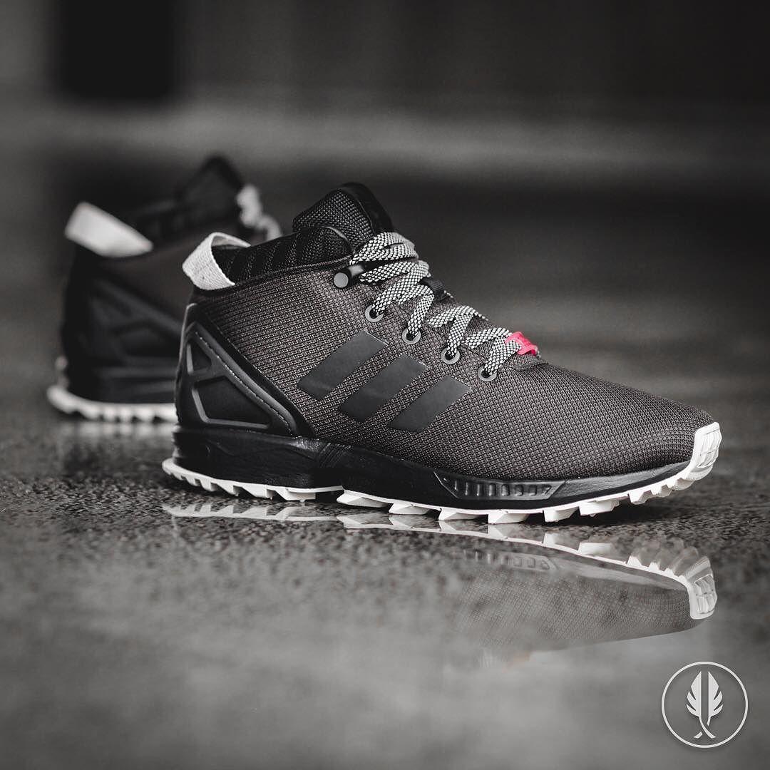 adidas originals mens zx flux 5/8 tr trainers