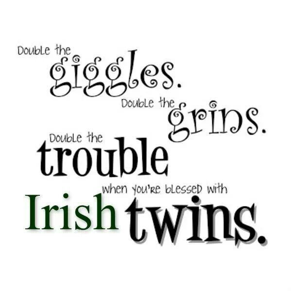 Irish Twins Christian & Aidan | For the kiddos | Twin quotes ...