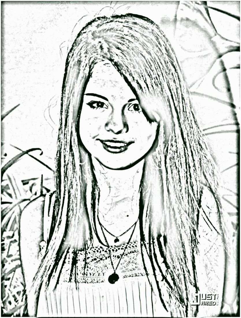 Selena Gomez Coloring Pages | Coloring Pages | Pinterest | Selena ...