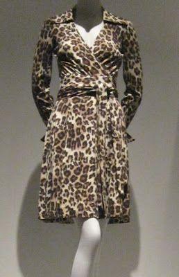 Diane Von Furstenberg Leopard Print Wrap Quot Dress Quot From 1974