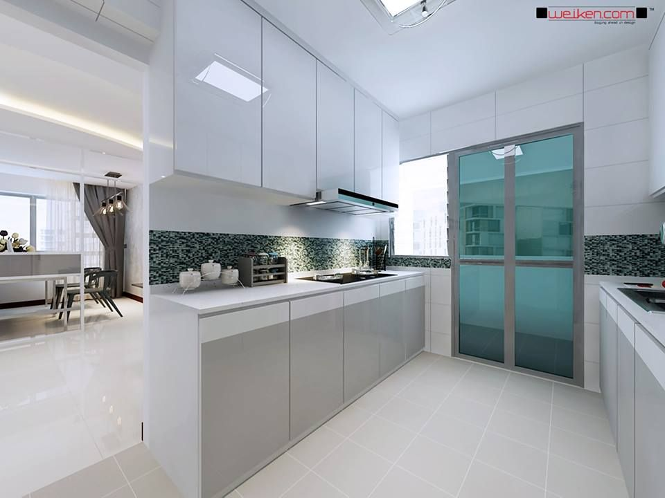 weiken interior modern classic kitchen - Weiken Interior Design