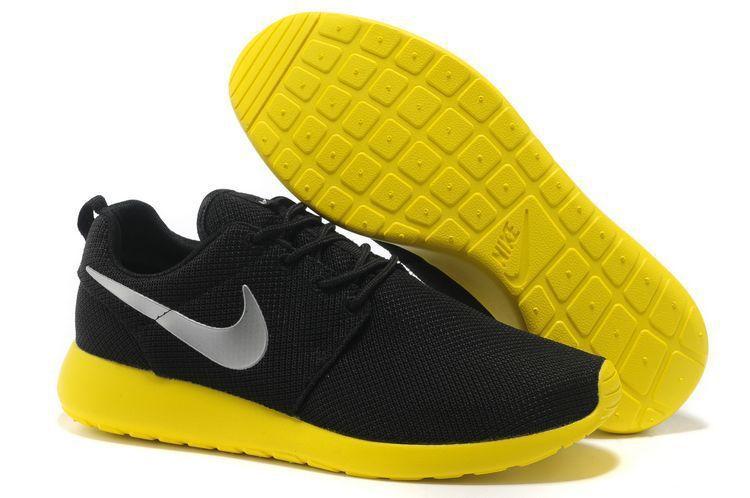 nike free run 2 schwarz limone