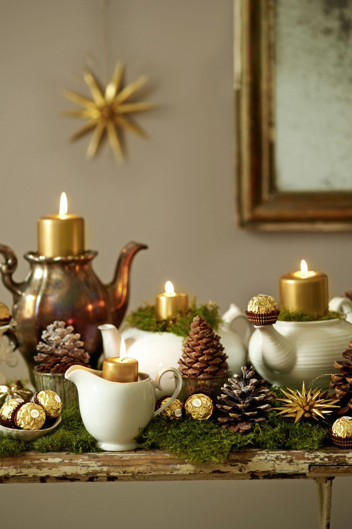 Adventskranz Stylish adventskranz selber machen elegante klassische und romantische ideen